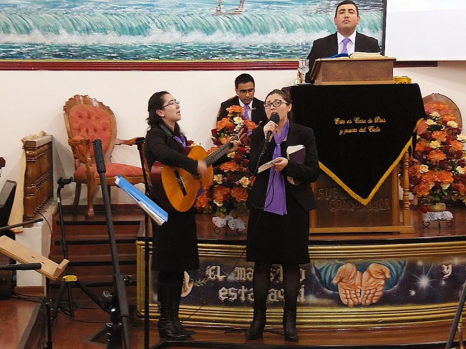 Jóvenes de Hualpén visitan a juventud de Valle Hermoso anexo Lorenzo Arenas