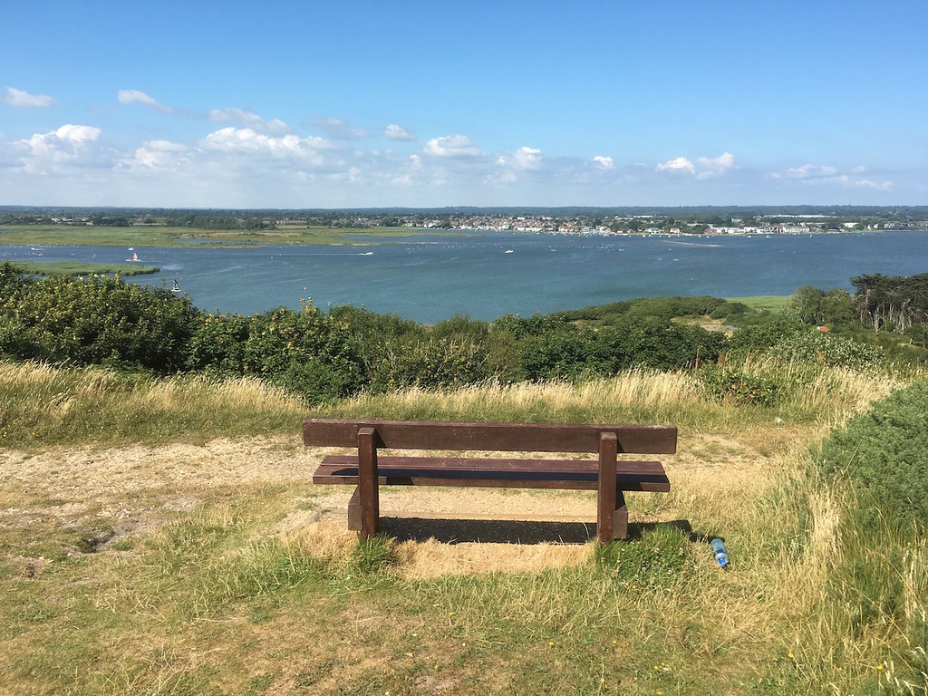 Christchurch Harbour from Hengistbury Head Barton to Bournemouth walk