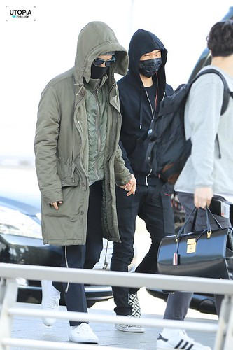 Big Bang - Incheon Airport - 01apr2015 - TOP - Utopia - 03
