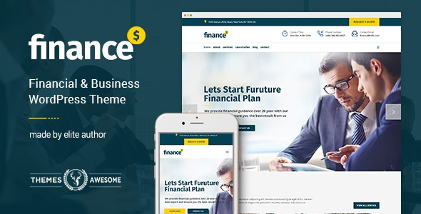Finance v1.0 - Financial, Business Accounting Theme