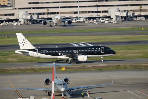Haneda Tokyo International Airport 21 STARFLYER SFJ