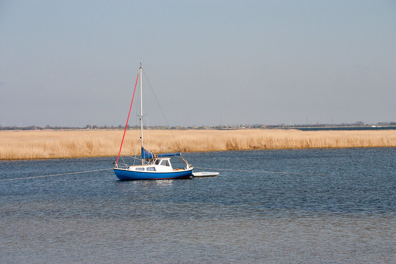 boat on hiddensee