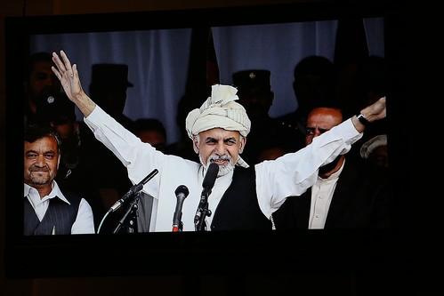 2015 Distinguished International Leadership Award honoree President Ashraf Ghani