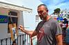 Pintor Juan Luis Cortés Oyonate ,dia de pintura en directo