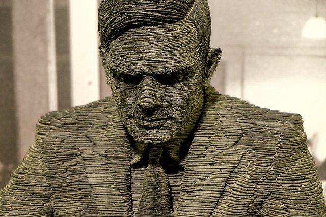 Turing tribute at Bletchley Park