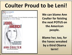 Coulter Proud to be Leni