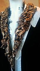 . Wearable  fine art artist, smoking jacket