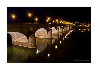 Pont sur la Loire à Saumur