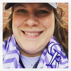 Got my #mothersday scarf from the @rockiesbaseball game!