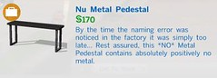 Nu Metal Pedestal