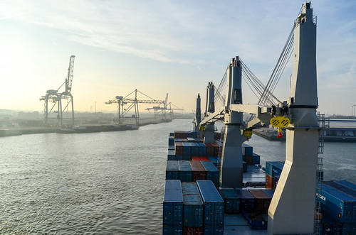 Beatrixhaven, port of Rotterdam