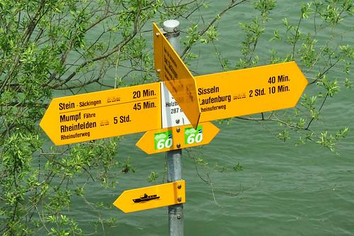 Bad Säckingen Hochrhein Stein Rheinfelden Mumpf