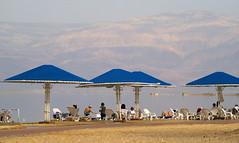 Ein Bokek Beach, the Dead Sea, Israel