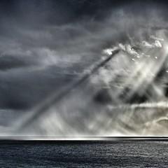 Rain and sun.