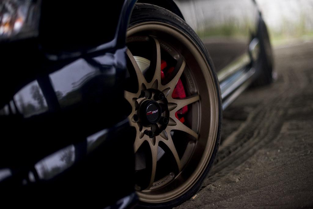 Honda Civic Type-R | JR-5 17x8.5 + 17x9.5 Anodize Bronze | Flickr
