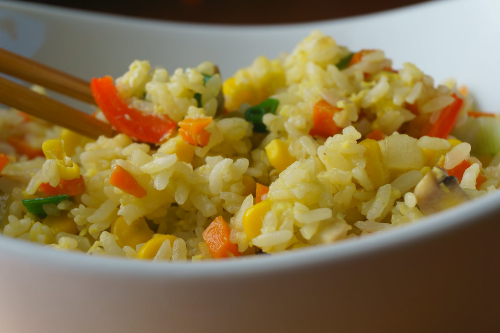 Vegetable Fried Rice #2