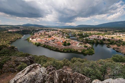 Un mirador con vistas a Buitrago de Lozoya
