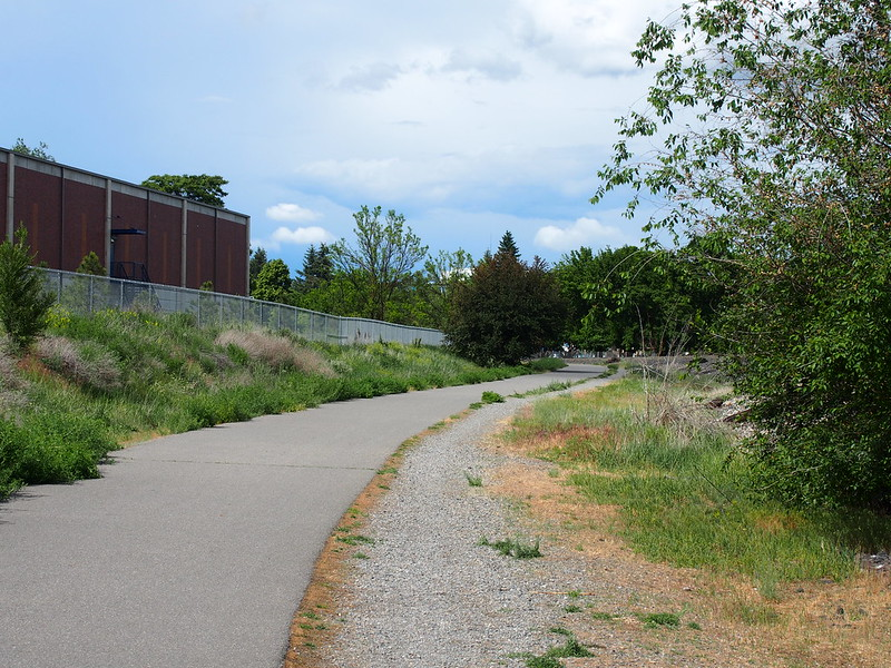 Centennial Trail: I had a lot of trouble finding the trail, and went a few blocks based on some advice I gathered before finding it.