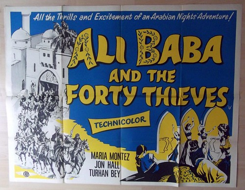 Ali Baba and the Forty Thieves - Poster 1