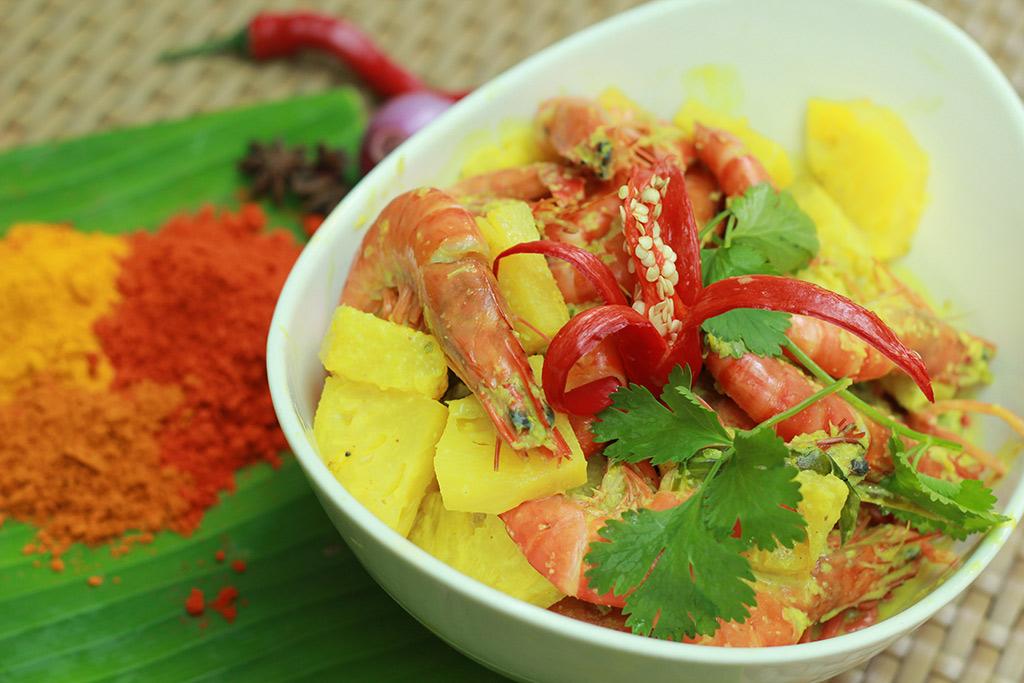 ramadan 2016 intercontinental kl Udang masak lemak