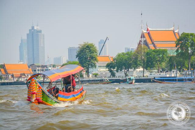 Water Taxi Bangkok Thailand