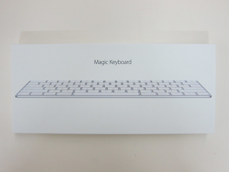 Apple Magic Keyboard - Box Front