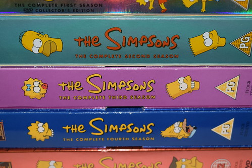 The Simpsons DVD Box Sets