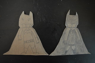 Cardboard Sculpture - Batman 2