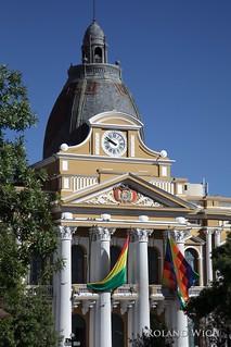 La Paz - Palacio del Congresso Nacional