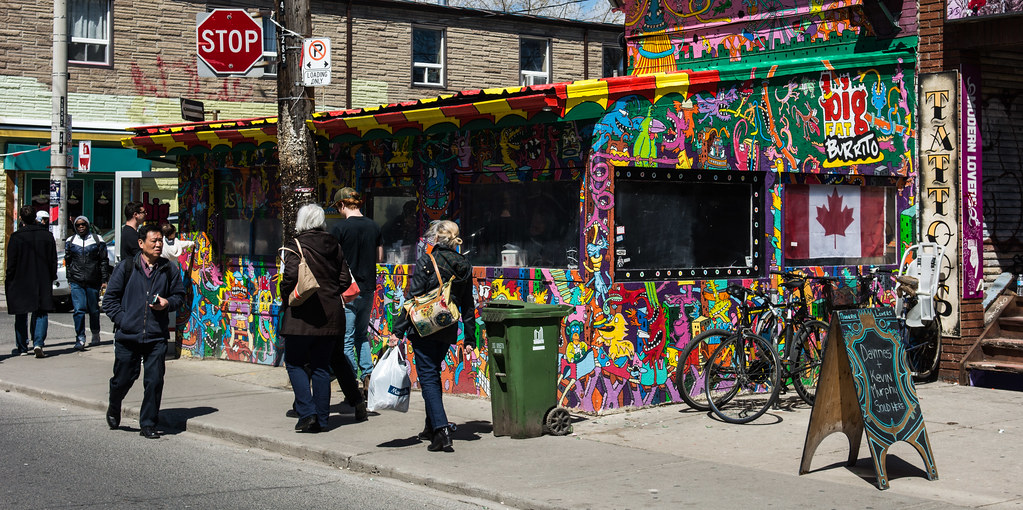 Sights, Sounds and Smells of Kensington Market, Toronto Ontario