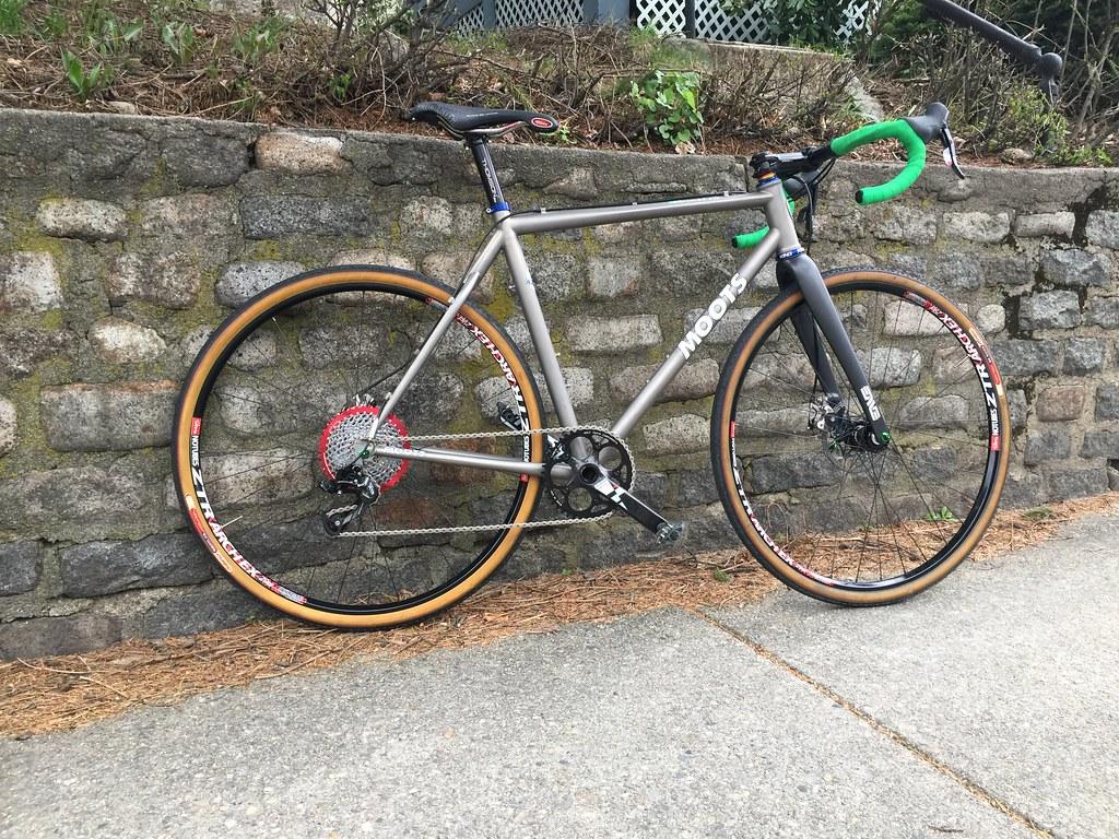 Cyclocross ett-trinns skivebremser