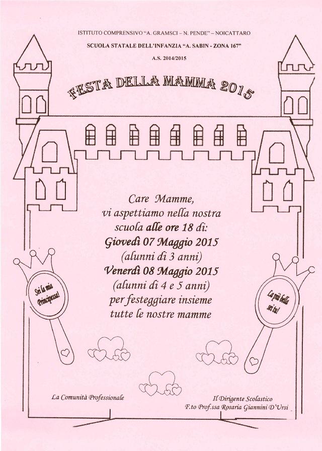 Noicattaro. Festa della Mamma 2015 Sabin intero