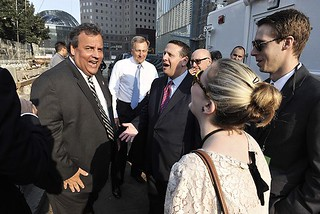Chris Christie, David Wildstein Sept. 11, 2013