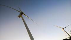 machine, windmill, line, wind, wind farm, electricity, wind turbine,