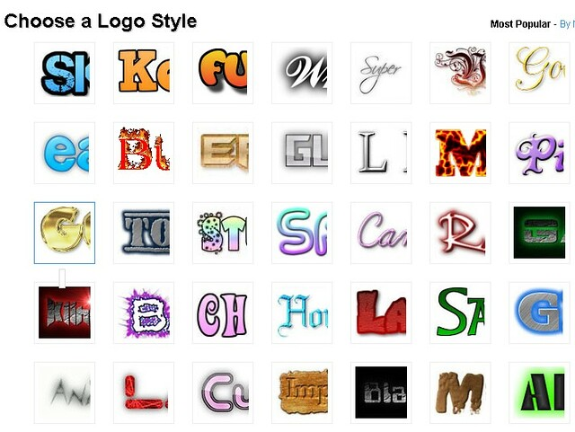 Choose a Logo Style