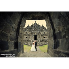 From the prewedding of Ratna & Prima. Pre wedding photoshoot at Plaosan Temple, Central Java, ID. Photo by @Poetrafoto 📷   Visit our web http://prewedding.poetrafoto.com and our FB http://fb.com/poetrafoto for more pre wedding photos.   Thank you..