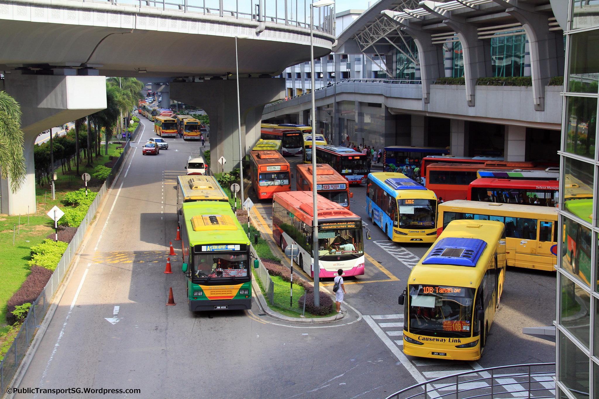 Jb Sentral Bus Terminal Land Transport Guru Perdana All Oprator Takeover Of Jln Wong Ah Fook Services