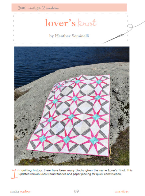 Lover's Knot Quilt Pattern