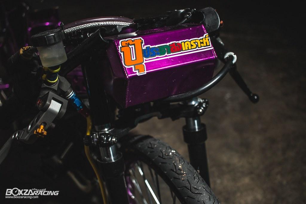 Wave Drag độ màu tím khủng khiếp với Piston 78mm (Thái) - 20
