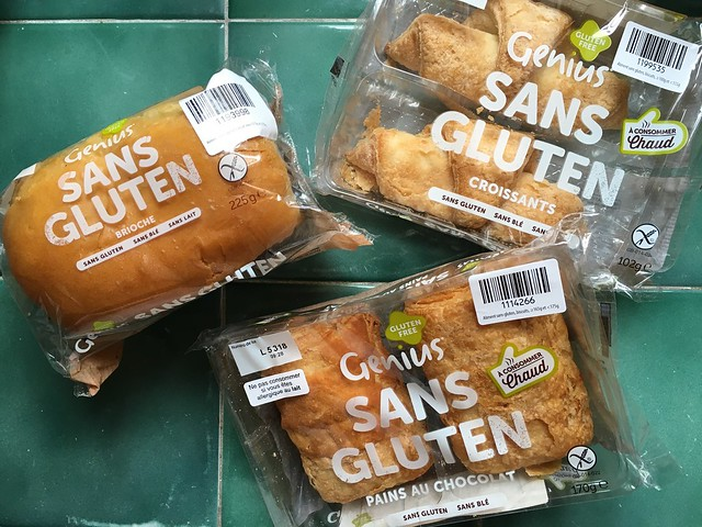 Genius Sans Gluten France pastries on counter