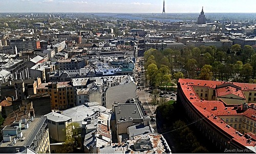cityscape view latvia riga lettonia latvja