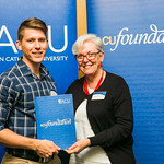 ACUscholarship2016-175 Nathan Wilson and Prof. Karen Flowers