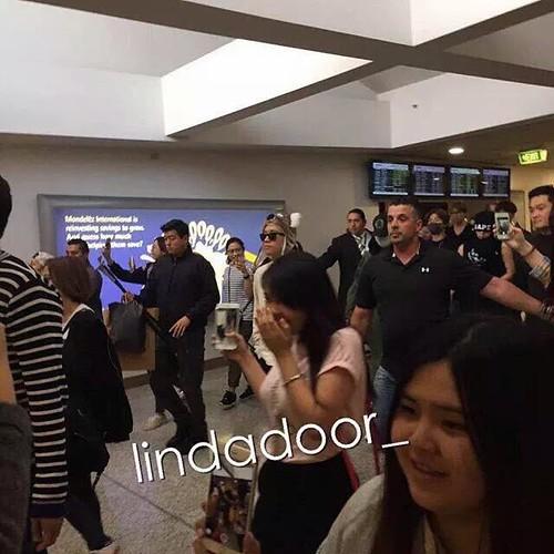 BIGBANG arrival Melbourne 2015-10-20 (6)