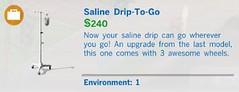 Saline Drip to Go