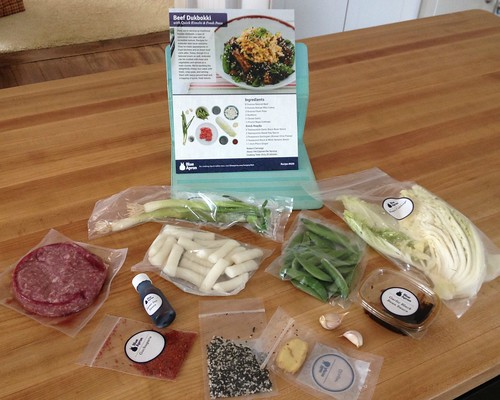 fresh and simple meal ingredients