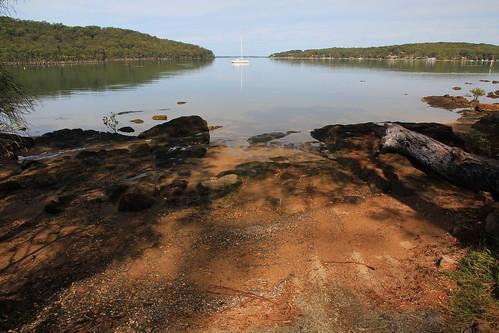 Bundabah Point Boat Launch Area, Near Tea Gardens, NSW 17.4.2015