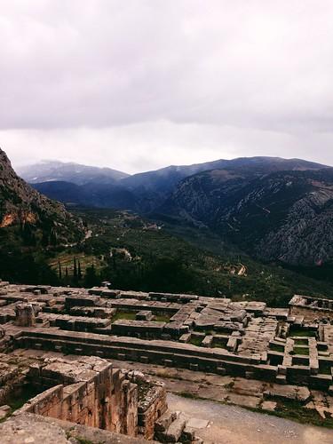travel nature landscape view greece