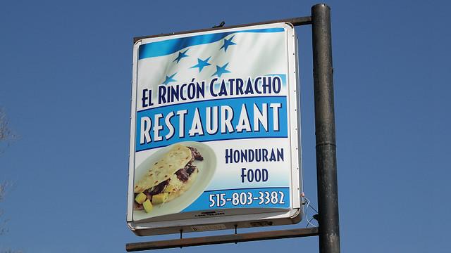 El Rincón Catracho Honduran Restaurant in Des Moines, Iowa