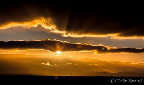 sunset iceland south sólarlag suðurland sólstafir malínbrand
