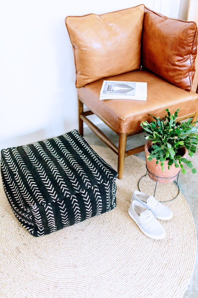 DIY Floor Cushion | A Pair & A Spare